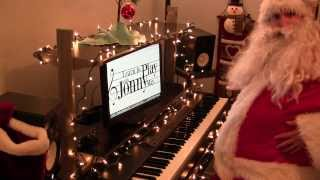 """Santa Claus is Coming to Town"" played by Santa himself!"