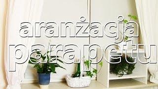 Tania i prosta aranżacja parapetu! Zainspiruj się! :) kajmanowa