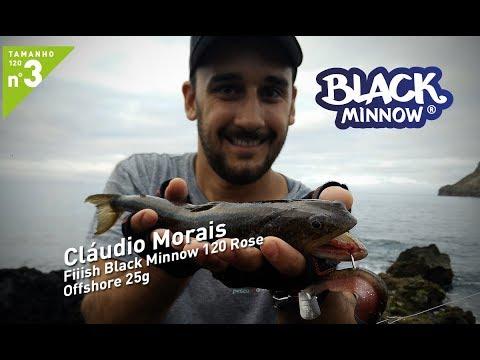Cláudio Morais - Black Minnow 120 Rose - Offshore 25g