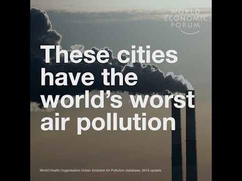 These cities have the world's worst air pollution