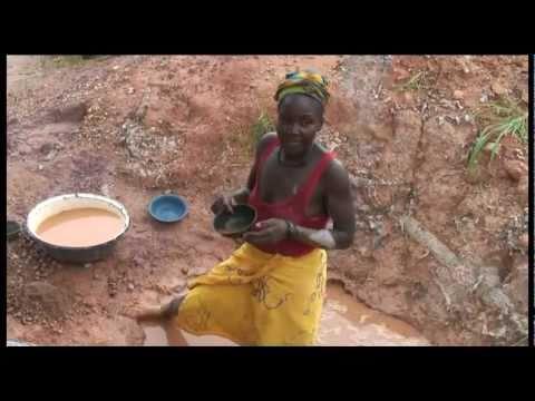 Chercheurs d'or au Mali