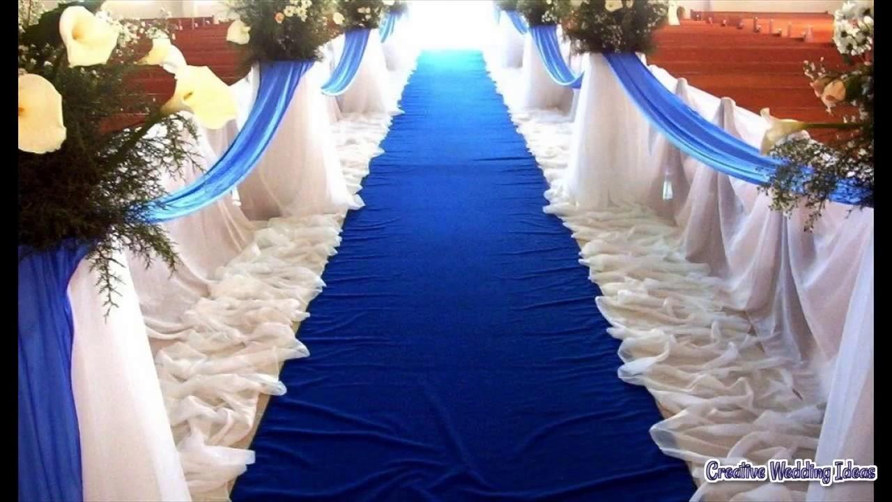 Diy Wedding Decorations For Church Youtube