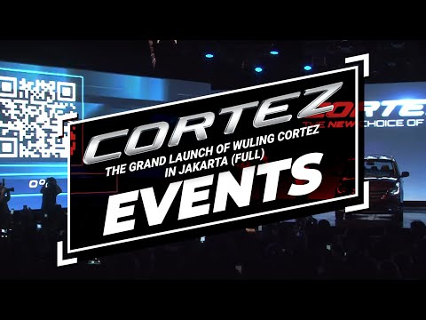 The Grand Launch of Wuling Cortez in Jakarta (Full)