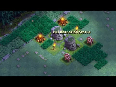 Clash Of Clans - HOW TO MOVE OLD BARBARIAN STATUE TO DIFFERENT LOCATION!