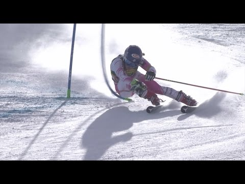 Mikaela Shiffrin ski video – Full Runs at the 2016 Soelden World Cup