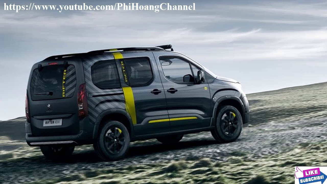 2018 peugeot rifter 4x4 concept review interior exterior auto review phi hoang channel. Black Bedroom Furniture Sets. Home Design Ideas