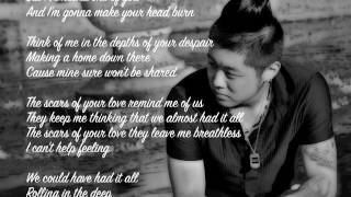 Adele - Rolling In The Deep (Daniel Ye Cover) - [Lyrics On Screen]