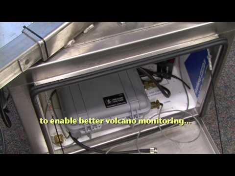 Spider Sensors Helping Predict Volcanic Activity