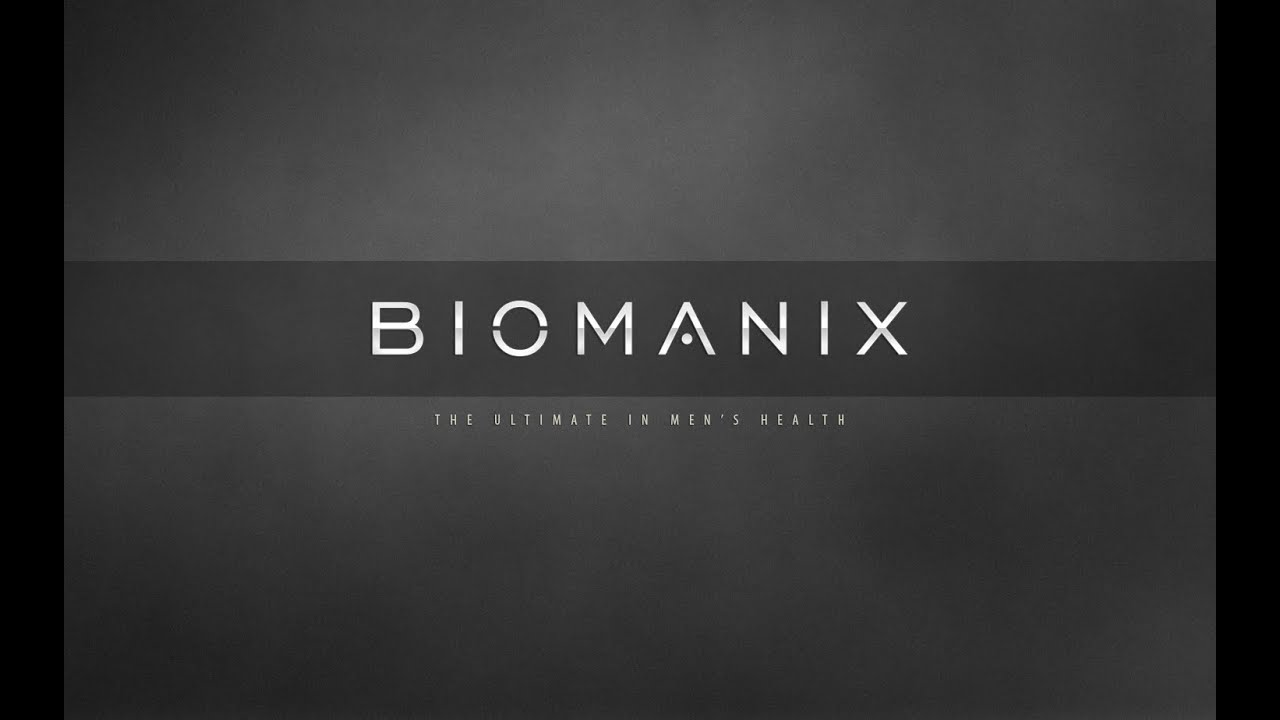 biomanix intro youtube