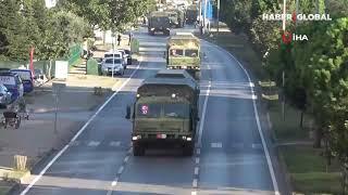 S-400'leri Taşıyan İkinci Konvoy Samsun'dan Geçti