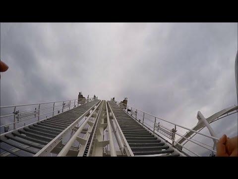 OBLIVION - Gardaland New 2015 onboard GoPro hero 4