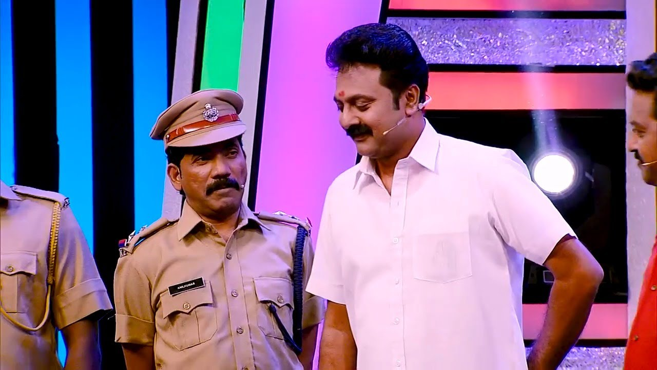 #ThakarppanComedy l Entry of Sethurama Iyer CBI... l Mazhavil Manorama