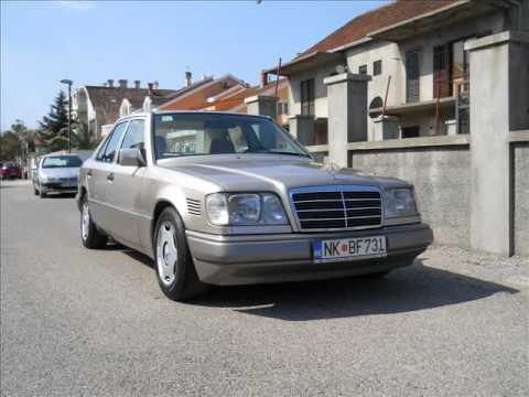 mercedes-benz w124 e-class 250 diesel - youtube