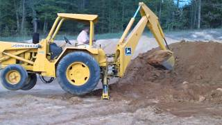 JOHN DEERE BACKHOE FOR SALE, DOZER, Heavy Equipment