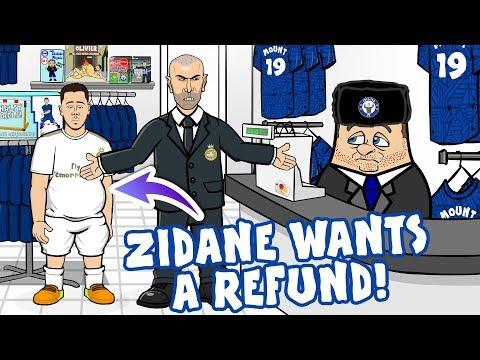 😠Eden Hazard ... Zidane Wants A REFUND!😠