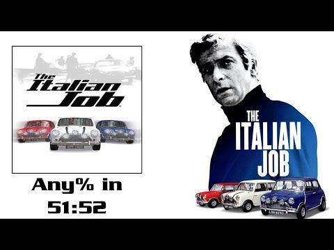 The Italian Job (PC) Any% Speedrun in [51:52] (Former WR)