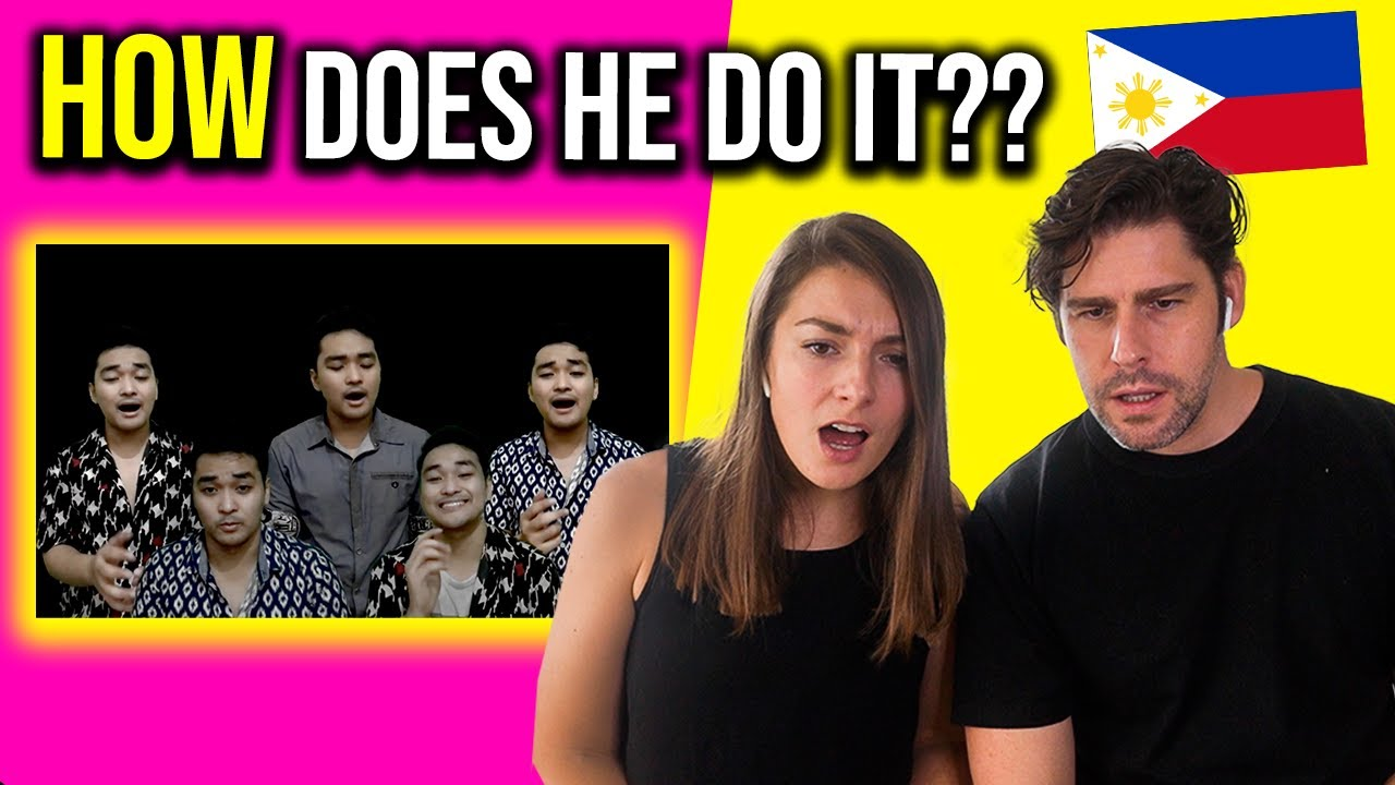 Foreigners react to INSANE PINOY TALENT - he performs 100 years of FILIPINO MUSIC in one go!