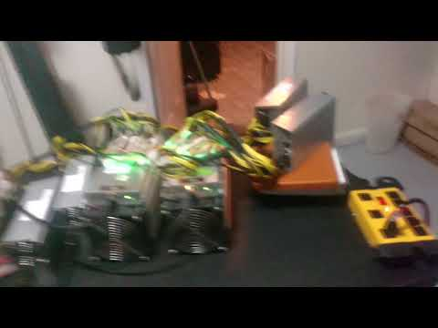 What 5 ASIC Miners Sound Like In A Normal House