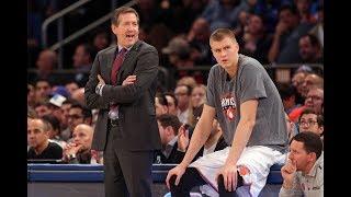 More Knicks Drama: Kristaps Porzingis VS Jeff Hornacek
