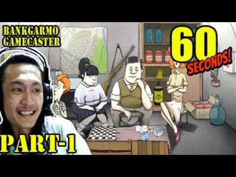 หาของใน 60 วิ แต่อยู่ได้ยัน 60 วัน!! ด้วยความจีเนียส..;w;b!!:- 60 Seconds! #1