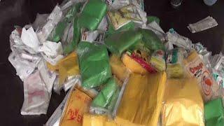 നിരോധിത പ്ലസ്റ്റിക് സഞ്ചികളുടെ  വൻശേഖരം നഗരസഭ പിടിച്ചെടുത്തു Kattappana  Plastic