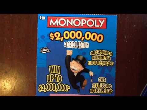 gerry12250 - $10 Monopoly - FL Lottery