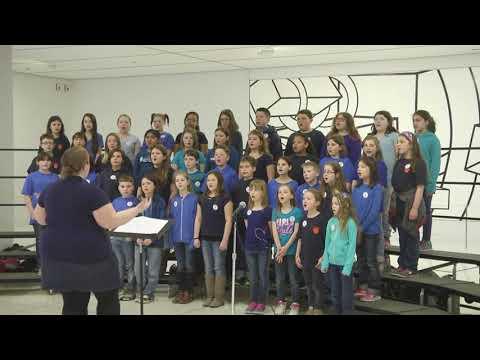 Catskill Elementary School Chorus Performance
