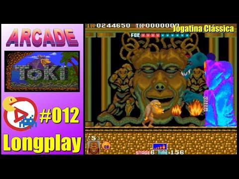 Arcade Longplay Toki - 1CC
