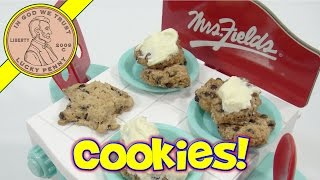 Mrs. Fields Cookie Oven Maker Play Set - Chocolate Chip Cookies!