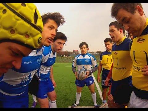 Ref Cam Rugby Paris 1 Sorbonne VS Nantes GOPRO HD 1080