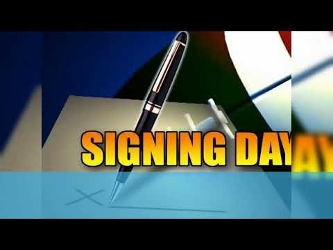 Football Signing Day at Windsor Forest High School (2018)