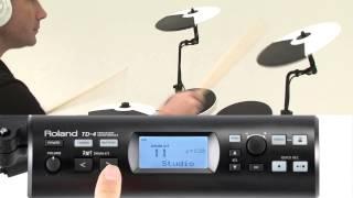 Roland V-Drums Portable TD-4KP Overview