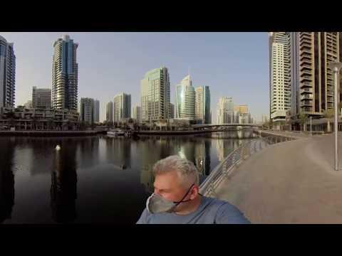 Дубаи360/Путевые Заметки – 360 HDR видео с Dubai Marina – тестирую новую 360 камеру Insta360 One R