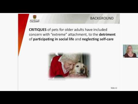 Is pet ownership relevant to social participation and life satisfaction for older Canadians?
