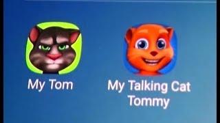 My Talking Tom Vs My Talking Cat Tommy