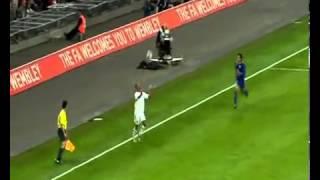 Англия  Казахстан. Гол Жамбыла Кукеева, 68-я минута... England - Kazakhstan. Goal Zhambyl Kokeev on