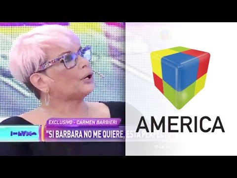 """Carmen Barbieri: """"Yo soy feliz sin los Vélez y sin los Bal"""""""