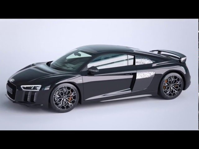 Exclusive Audi R8 V10 Inspired By Final Fantasy Xv Sells At 500 000 Photos And Videos Auto News Auto World News