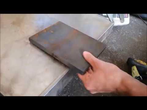 Как вычислить вес листа железа
