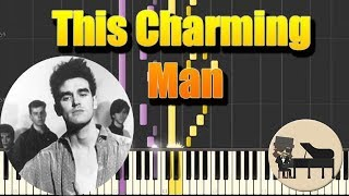 🎵 The Smiths - This Charming Man  [Piano Tutorial] (Synthesia) HD Cover