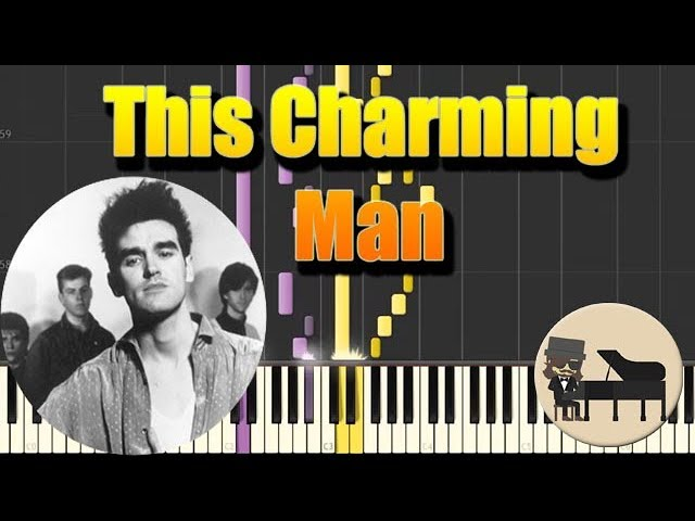 The Smiths - This Charming Man [Piano Tutorial] (Synthesia) HD Cover ...