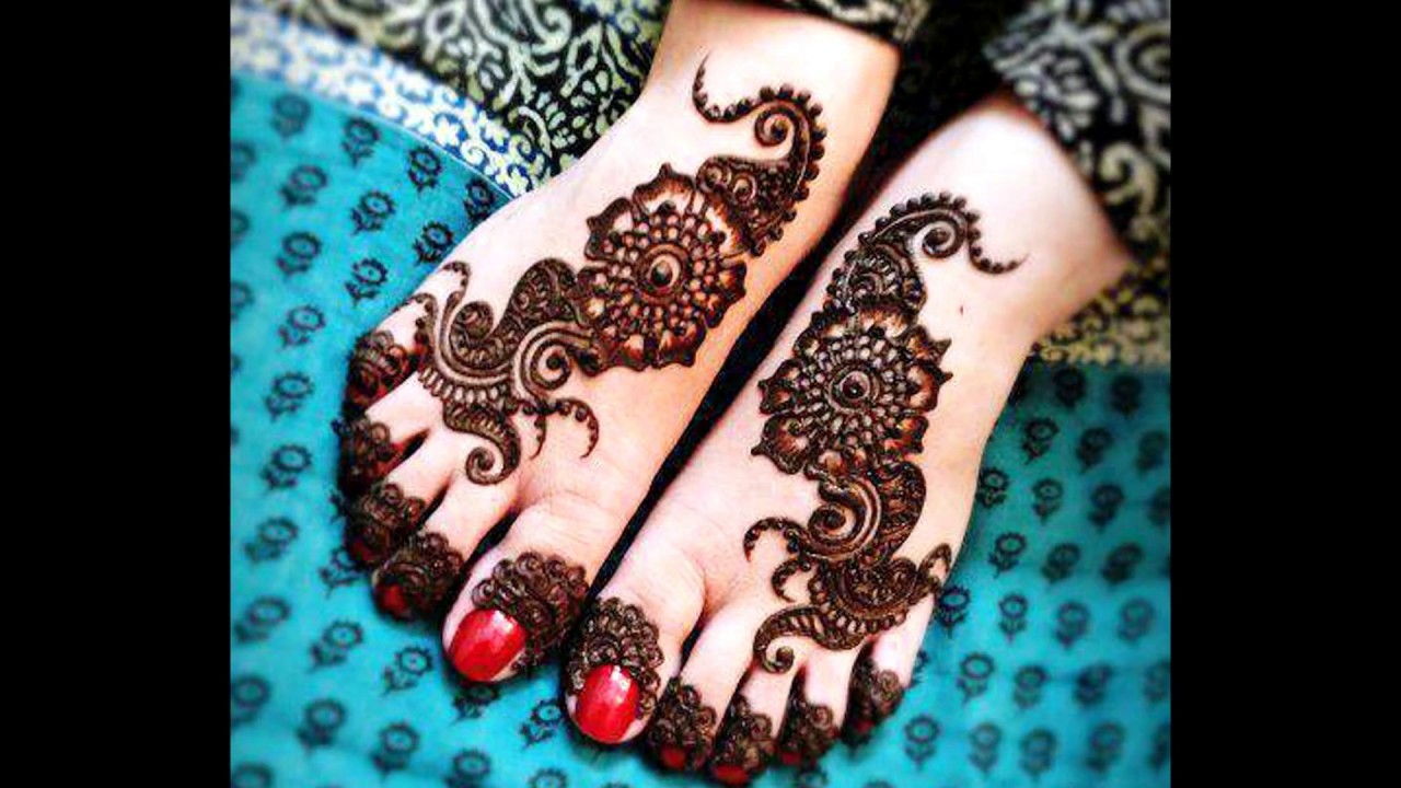 Extraordinary Bridal Mehndi Feet Designs