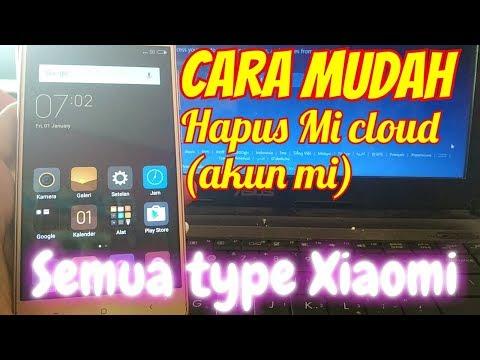 Cara Hapus Akun Mi Cloud semua type Xiaomi || Remove Mi Cloud ||.