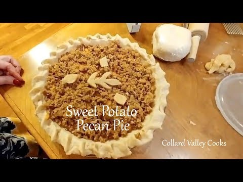 How we Make Sweet Potato Pecan Pie, Best Southern Thanksgiving Recipes