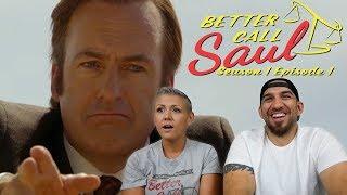 Better Call Saul Season 1 Episode 1 'Uno' Premiere REACTION!!