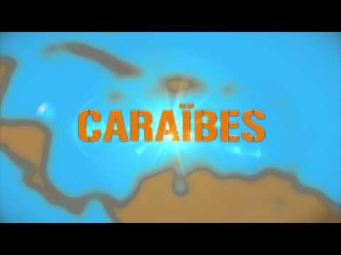 """Générique TV : Emission """"CARAÏBES"""" - Martinique 1ère - Oct. 2012"""