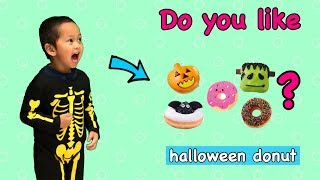 Do You Like Halloween Donut?? Learn Most Funny Super Simple Songs!!