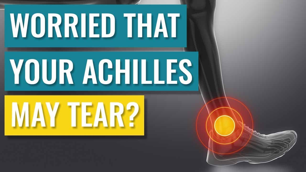 Worried that you may Tear your Achilles Tendon? This video may help. - YouTube