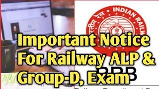 Railway Group-D, RRB ALP /Technician Vacancy Post increase 26502 To 60000 important notice :-SahuG