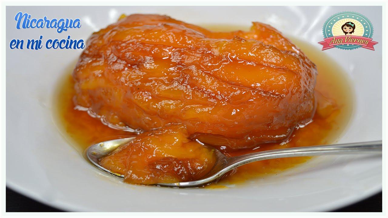 C mo hacer mangos en miel nicaragua en mi cocina youtube for Como armar mi cocina